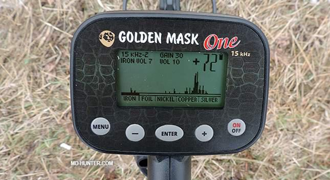 Golden Mask ONE 8 KHZ DEFİNE VE TEK PARA DEDEKTÖRÜ